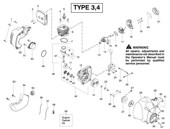 weedeater sst25c parts