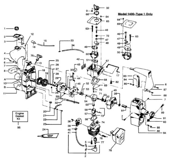 1400T Engine