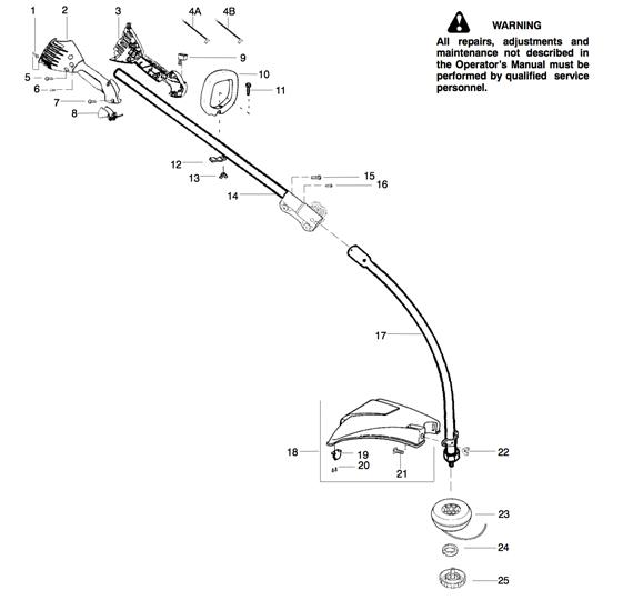 Ryobi 25cc Engine Diagram Com