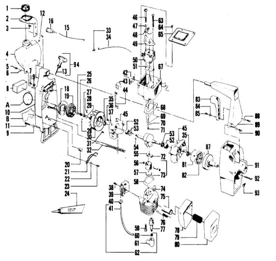 Weedeater 1740 Engine Part 1