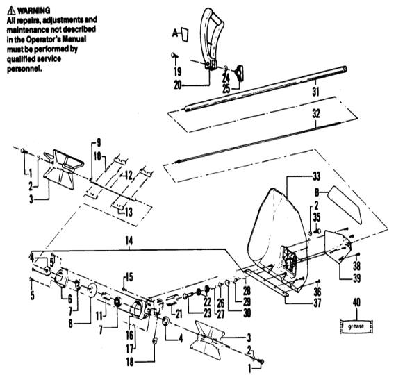 Weedeater 1740 Engine Part 2