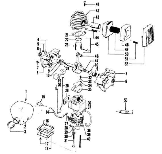 Weedeater 2615 Engine Part 1