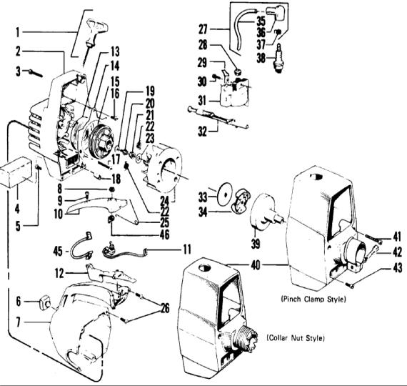 Weedeater 2615 Engine Part 2