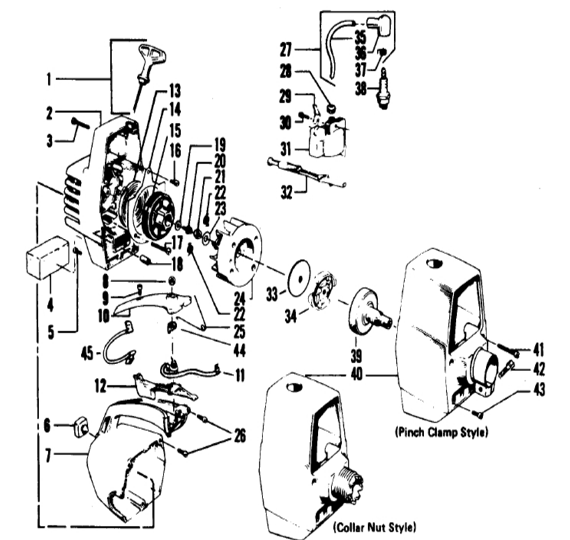 Weedeater 2620 Engine Part 2