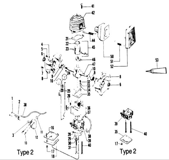 Weedeater 4500 Engine Part 1