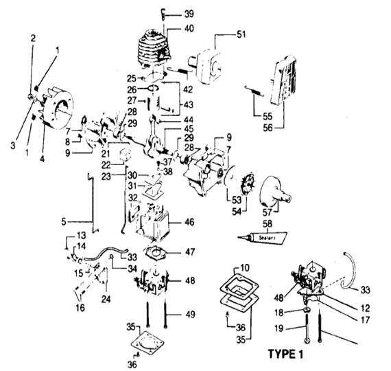Weedeater 5000 Engine Part 1