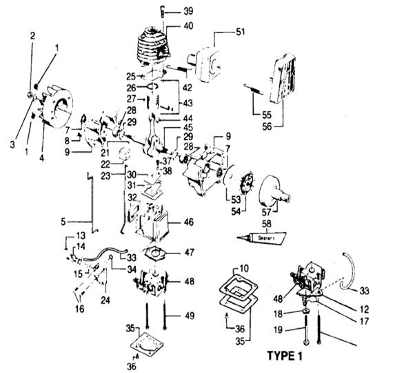 Weedeater 5500 Engine Part 1