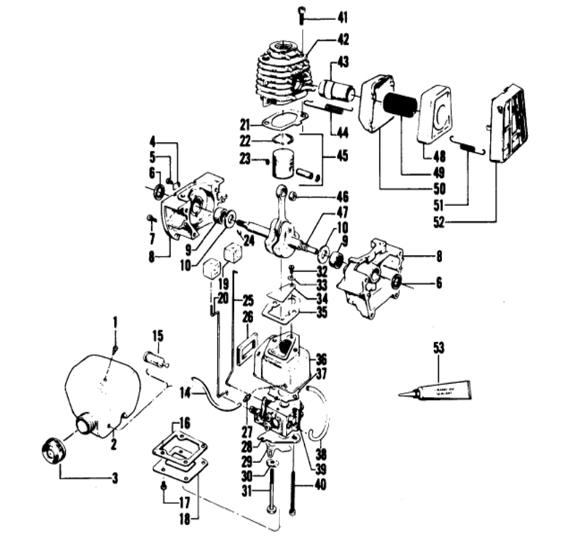 Weedeater 6000 Engine Part 1