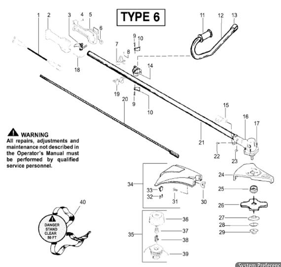 BC2400 Parts T6