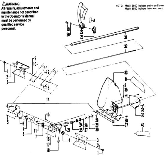 Weedeater 6510 Part 1