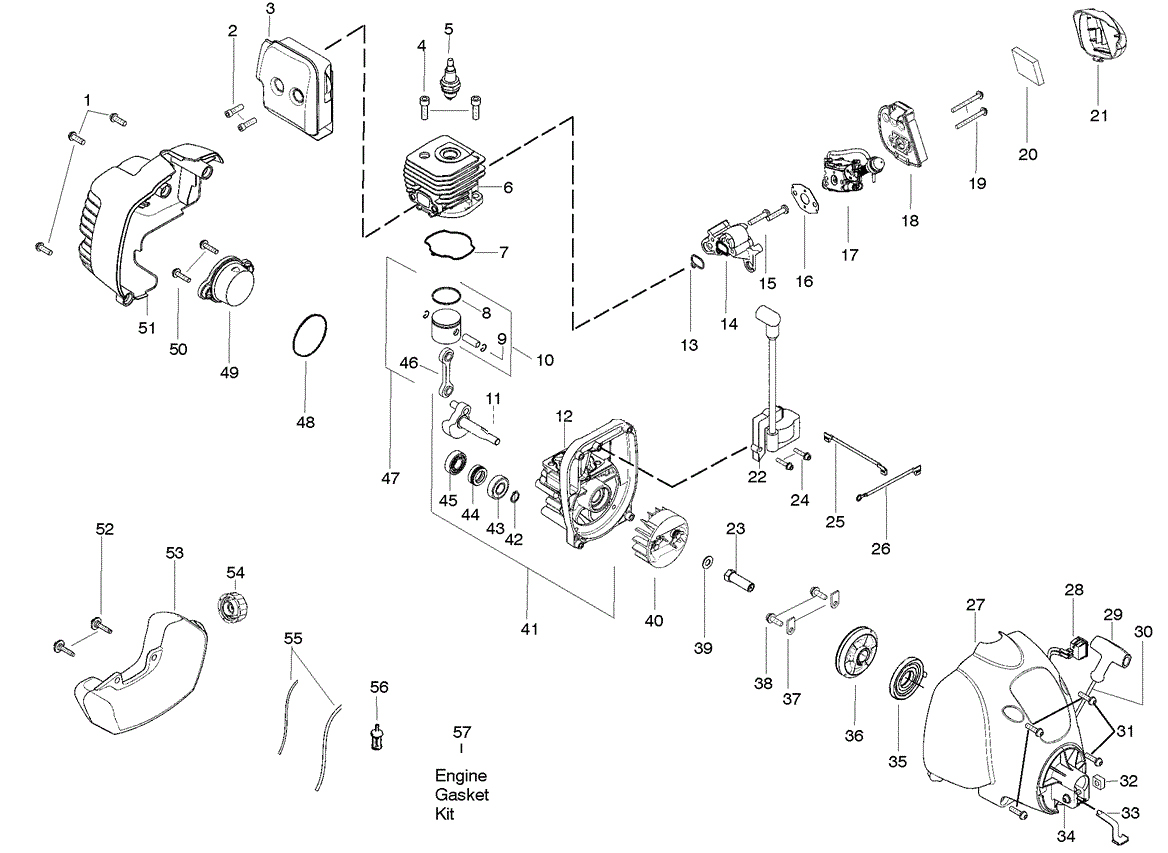 W25SB Engine Parts